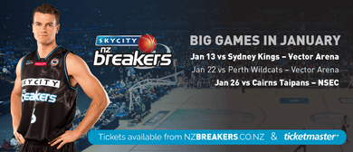 SKYCITY Breakers vs Perth Wildcats