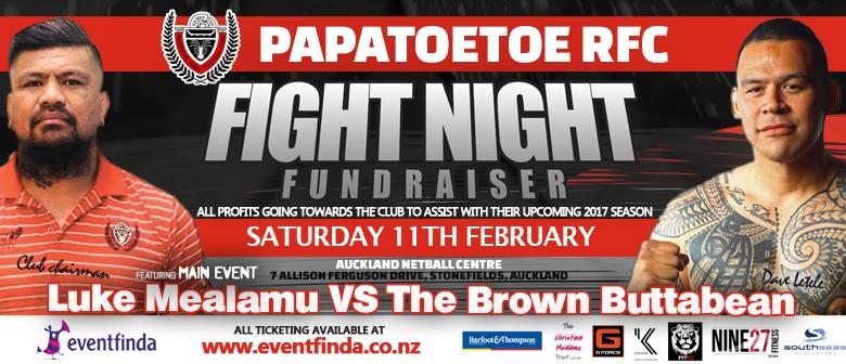 Papatoetoe RFC Fight Night Fundraiser