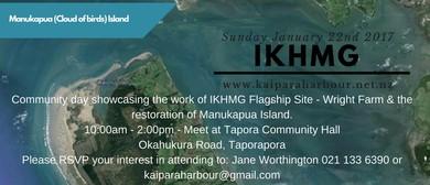 Restoration of Manukapua Island