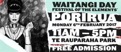 Waitangi Day Festival of the Elements