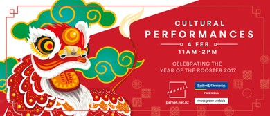 Parnell Chinese New Year - Cultural Performances