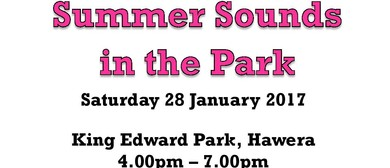 Summer Sounds In the Park 2017