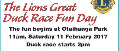 Lions Great Duck Race & Fun Day