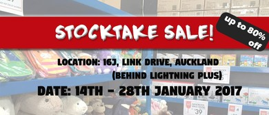 Stocktake Warehouse Sale