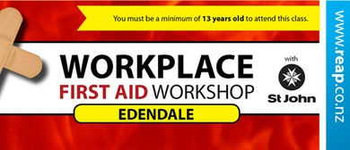 Edendale St John Workplace First Aid Training