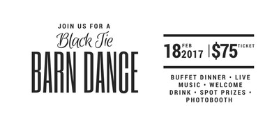 Black Tie Barn Dance