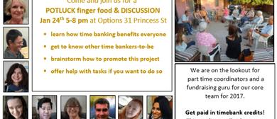 TimeBank Manawatu Potluck Finger Food and Chat