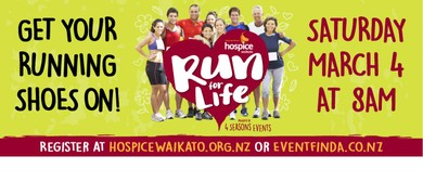 4 Seasons Hospice Waikato Run for Life
