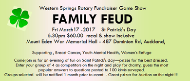 Family Feud Rotary Fundraiser