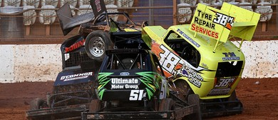 Baypark Family Speedway Stock Car Teams Race