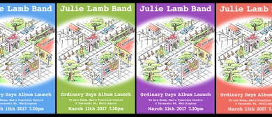 Julie Lamb - Ordinary Days - Album Launch