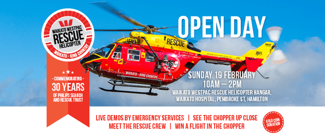 Waikato Westpac Rescue Helicopter Open Day 2017