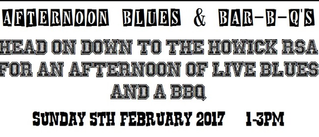 Afternoon Blues & BBQ's