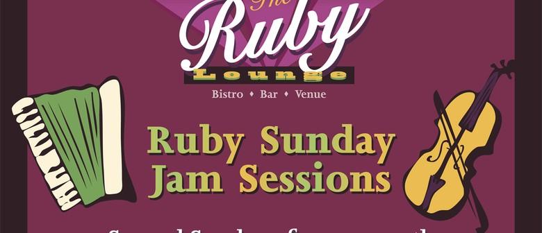 Ruby Sunday Jam Session