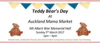 Teddy Bear Day at Auckland Mama Market