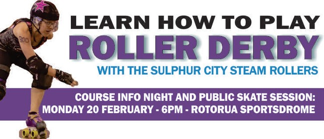 Sulphur City Steam Rollers Info Night and Public Skate