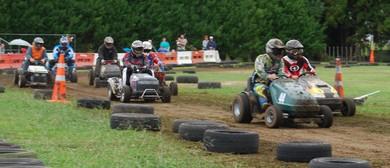 Ride-On Lawnmower Racing