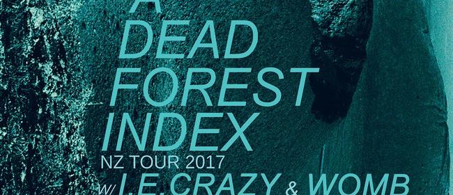 A Dead Forest Index New Zealand Tour - I.E.Crazy & Womb