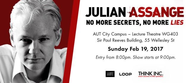 Julian Assange: Tell No Secrets, Tell No Lies