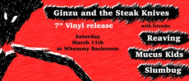Ginzu Vinyl EP Release