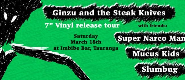 Ginzu Vinyl EP Release Tour