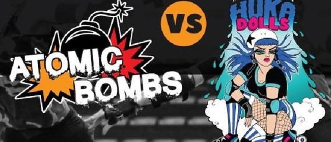 Roller Derby: Atomic Bombs vs Huka Dolls