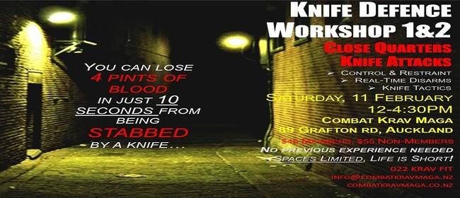 Surviving The Knife Attack - Knife Self Defence 1&2 Workshop