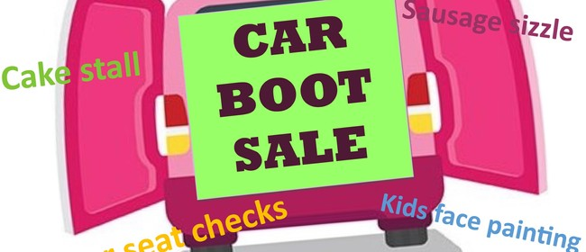 Car Boot Sale & 1st Birthday Car Seat Service Celebration