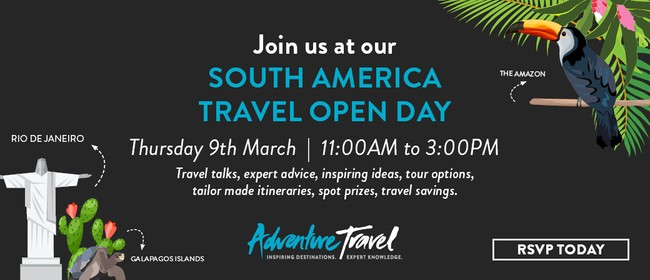 South America Travel Open Day