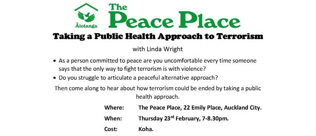 Taking a Public Health Approach to Terrorism