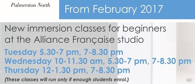 French New Beginner Classes