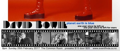 "David Bowie Tribute ""planet Earth Is Blue"""