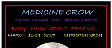 Medicine Crow At Body Mind Spirit Festival