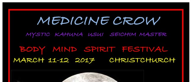 Medicine Crow At Body Mind Spirit Festival
