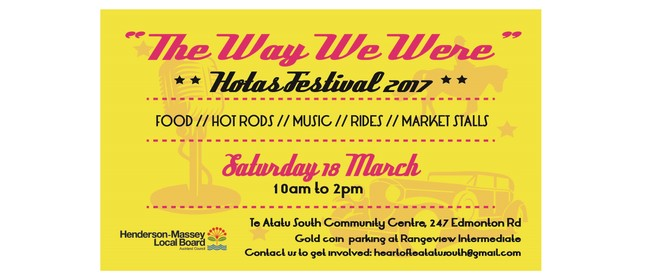 Heart of Te Atatu South Festival: The Way We Were
