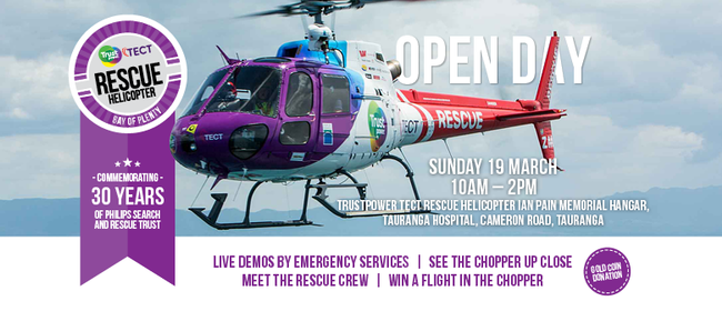 Trustpower TECT Rescue Helicopter Open Day 2017