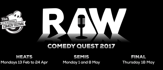 The Raw Comedy Quest Grand Final 2017