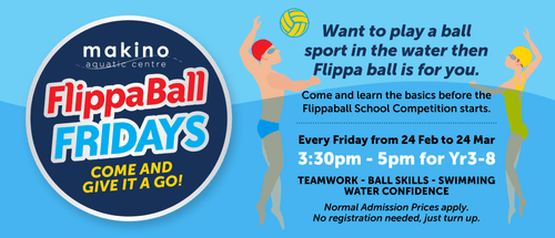 FlippaBall Fridays - Come and Give It a Go!