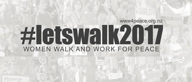 Women Walk for Peace On International Women's Day