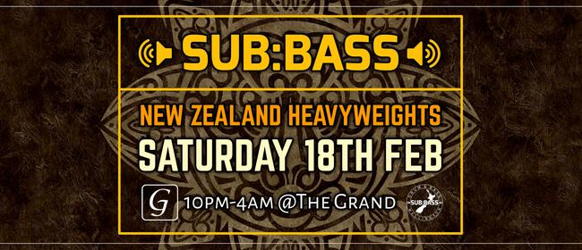 Sub:Bass - NZ Heavyweights