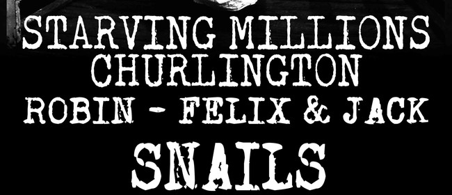 Starving Millions & Churlington EP Release