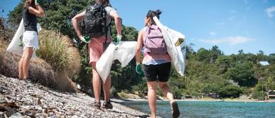 Seaweek - South Beach Whanganui Clean-up