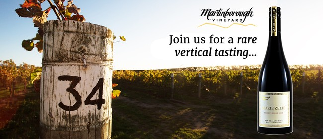 You're Invited - Rare Marie Zelie Pinot Vertical Tasting