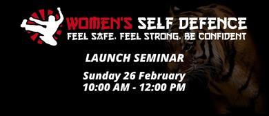 Women's Self Defence Launch Seminar