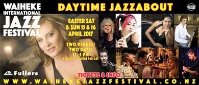 Waiheke Jazz Festival - Daytime Jazzabout