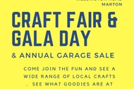 Craft Fair and Gala Day with Annual Garage Sale
