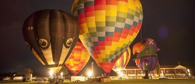 Wairarapa Balloon Festival, Copthorne Solway Park Night Glow