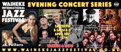 Waiheke Jazz Festival - Evening Concert Series