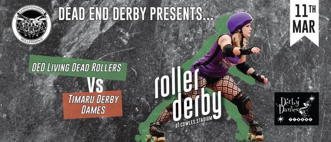 Dead End Derby vs Timaru Derby Dames