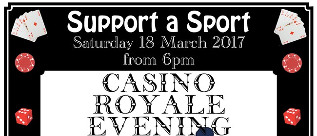 Support a Sport Casino Royale Evening